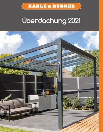 Alu-Überdachung 2021